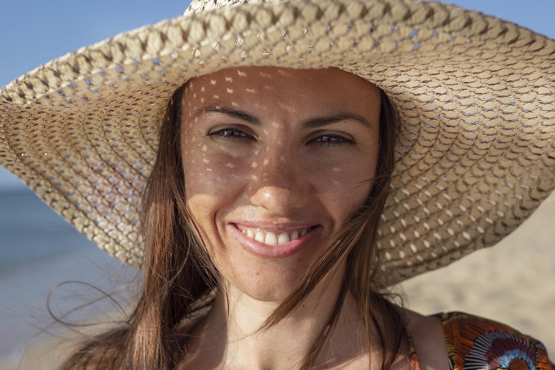 Krásný bílý úsměv