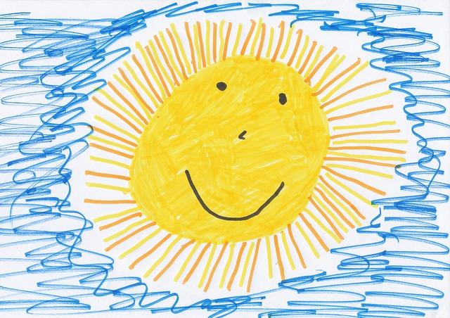 sluníčko na obrázku