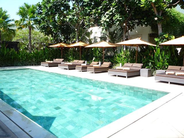 mělký bazén