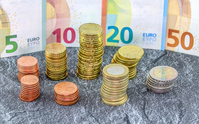 euro mince a bankovky