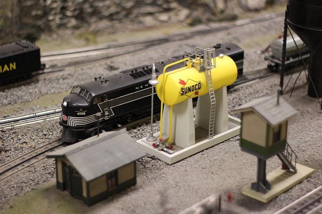 model železnice, lokomotiva