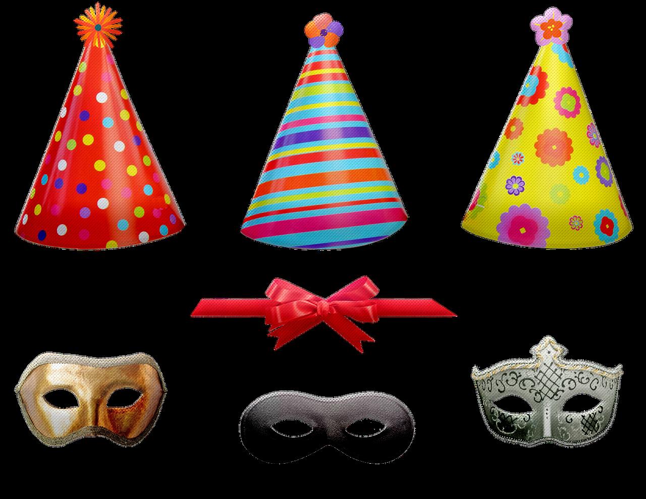 věci na oslavu